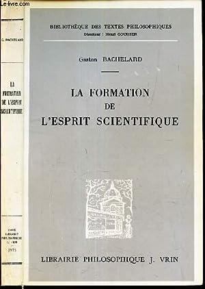 Bachelard La Formation De L Esprit Scientifique : bachelard, formation, esprit, scientifique, Gaston, Bachelard, Formation, L'esprit, Scientifique, AbeBooks