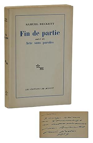 Samuel Beckett Fin De Partie : samuel, beckett, partie, Samuel, Beckett, First, Edition, Seller-Supplied, Images, AbeBooks