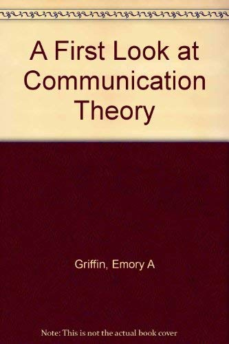 9780070227781 A First Look At Communication Theory AbeBooks