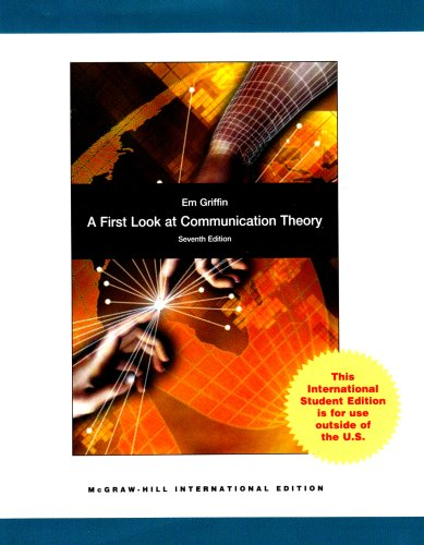 9780071287944 A First Look At Communication Theory Em Griffin