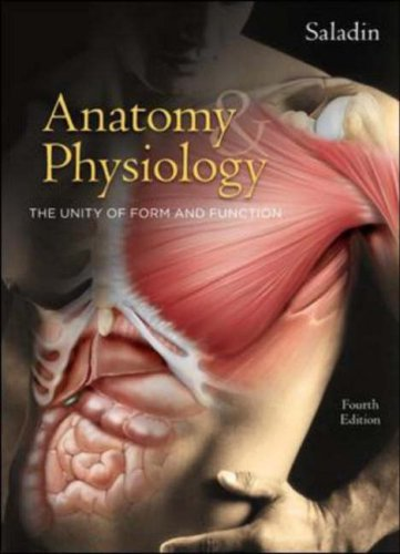 9780073228044 Anatomy & Physiology The Unity Of Form And Function