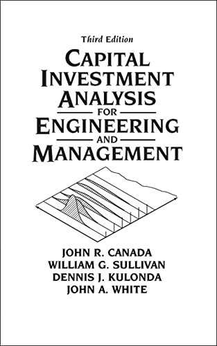 9780131434080: Capital Investment Analysis for Engineering