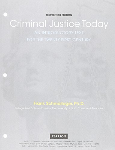 9780133460117: Criminal Justice Today: An Introductory