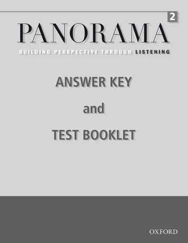 9780194757225: Panorama Listening 2 Teacher's Booklet
