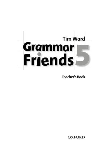9780194780100: Grammar Friends 5. Teacher's Book (Spanish