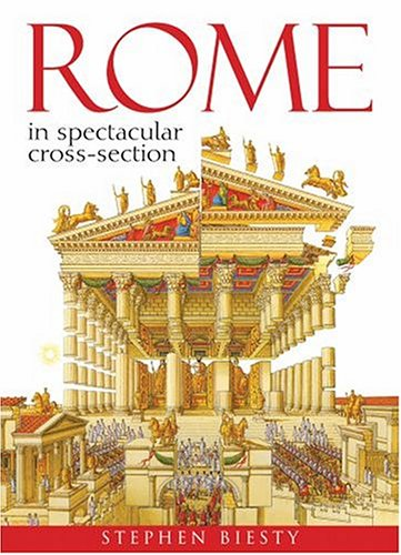 Rome In Spectacular Crosssection By Solway, Andrew