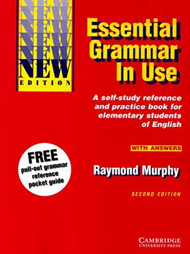 Essential Grammar In Use Pdf : essential, grammar, 9780521559287:, Essential, Grammar, Answers:, Self-Study, Reference, Practice, Elementary, Students, English, AbeBooks, Murphy,, Raymond:, 0521559286