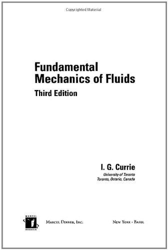 9780824708863: Fundamental Mechanics of Fluids, Third