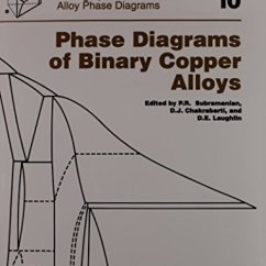 Asm Phase Diagram Telephone Master Socket Wiring Diagrams Of Binary Copper Alloys Monograph Series On Alloy P R