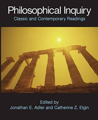 9780872208674: Philosophical Inquiry: Classic and Contemporary Readings