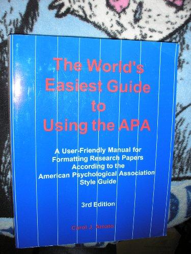 A Pocket Style Manual Apa Version 9781319057435sixth Edition