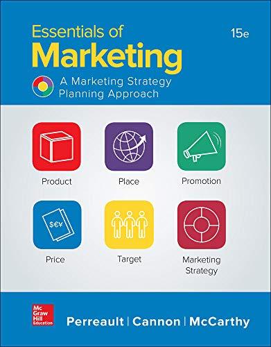 9781259573538 Essentials Of Marketing LOOSELEAF Standalone Book