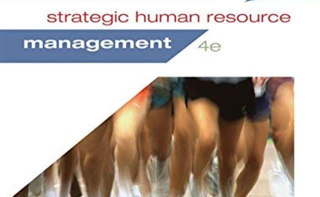 9781285426792 Strategic Human Resource Management