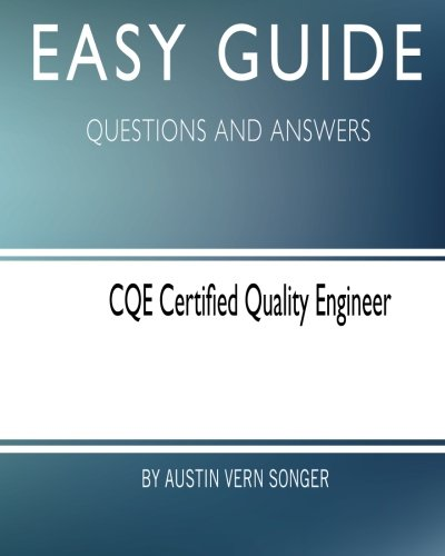 Certified Quality Engineer  AbeBooks