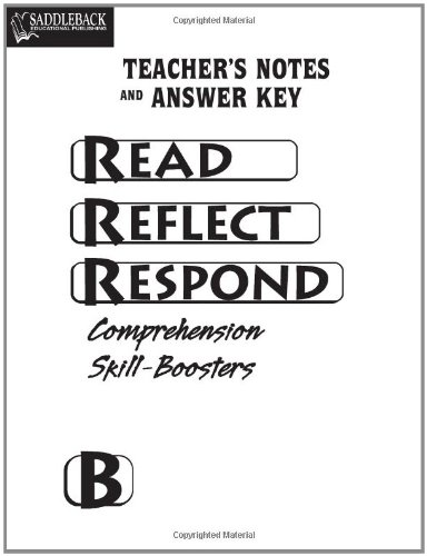 Nonfiction Comprehension Skill-Boosters Teacher's Notes