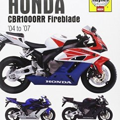 2004 Hayabusa Wiring Diagram Mn Triton Radio Honda Cbr1000rr Online 9781785212970 Fireblade 2007 Haynes 2008 Suzuki