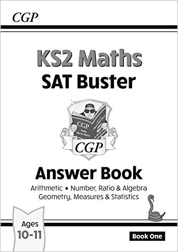 9781847627865: KS2 Maths SAT Buster: Answer Book 1 (for