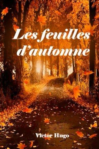 Les Feuilles D'automne Victor Hugo : feuilles, d'automne, victor, Feuilles, D'automne, AbeBooks