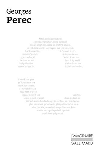 La Disparition De Georges Perec : disparition, georges, perec, 9782070715237:, Disparition, (French, Language, Edition), (L'Imaginaire), AbeBooks, Georges, Perec:, 207071523X