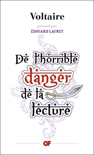 Voltaire De L Horrible Danger De La Lecture : voltaire, horrible, danger, lecture, 9782081339118:, L'horrible, Danger, Lecture, (Philosophie), (French, Edition), AbeBooks, Voltaire:, 2081339110