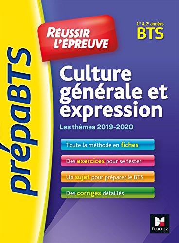 Thème Culture Générale Bts 2019-2020 : thème, culture, générale, 2019-2020, Culture, Générale, Expression, AbeBooks