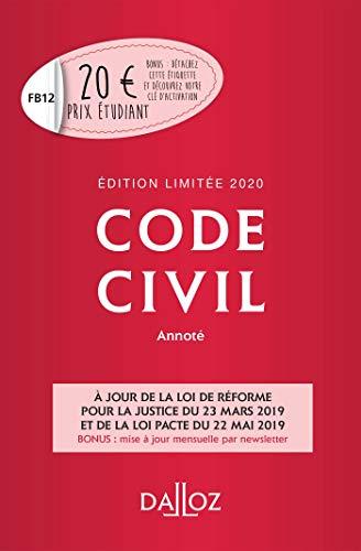 Code Civil 2019 Pdf : civil, 9782247186600:, Civil, Annoté., Édition, Limitée, (Codes, Dalloz, Universitaires, Professionnels), (French, Edition), AbeBooks, Collectif:, 2247186602