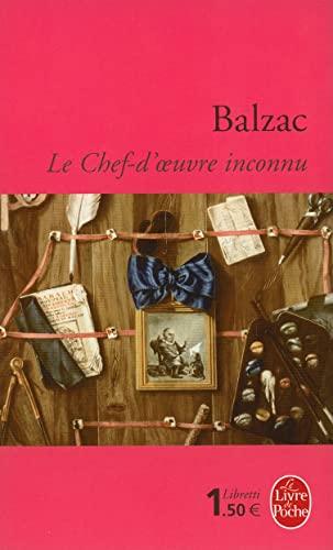 Le Chef-d'œuvre Inconnu : chef-d'œuvre, inconnu, 9782253138082:, Chef-d'Oeuvre, Inconnu, Livre, Poche), (French, Edition), AbeBooks, Balzac,, Honore:, 2253138088
