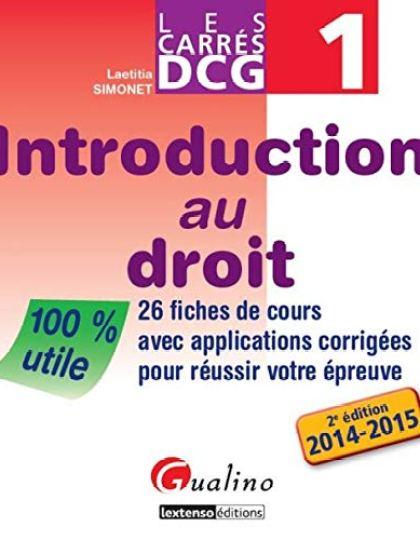 Introduction au droit DCG
