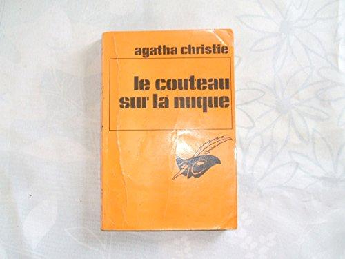 Le Couteau Sur La Nuque : couteau, nuque, Agatha, Christie, Couteau, Nuque, AbeBooks