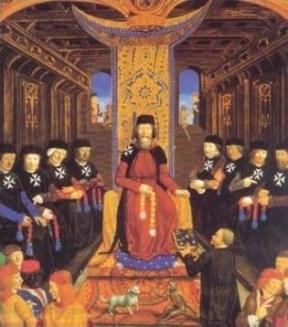 Grand master & senior knights Hospitaller.