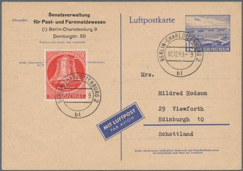 small resolution of lot 26358 berlin ganzsachen auktionshaus christoph g rtner gmbh co