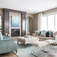 Accessorize Grey Living Room The Menu How To Position And Style Coffee Tables Ottomans Decorate Your Ottoman Just As You Would Table