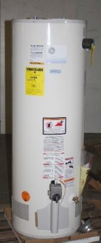 GE 40 GALLON STORAGE TANK NATURAL GAS HOT WATER HEATER
