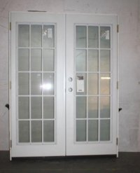 "MASONITE 60"" X 80"" PRE-HUNG 15-LITE HOUSEHOLD PATIO ENTRY ..."