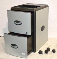 Storex 613520 Plastic Filing Cabinet