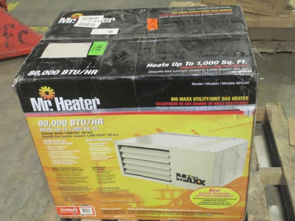 Heater Big Maxx Utility Gas Mhu80