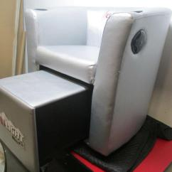 Coors Light Chair How To Make A Mat For Carpet Silver Club With Cooler Ebay