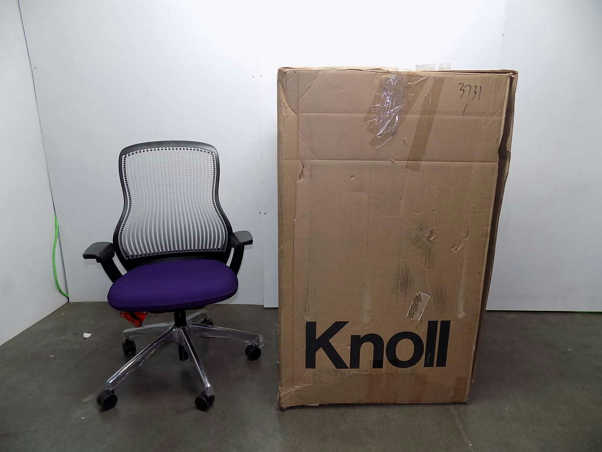 Knoll Regeneration Chair Knoll Regeneration Purple Office Chair Ebay