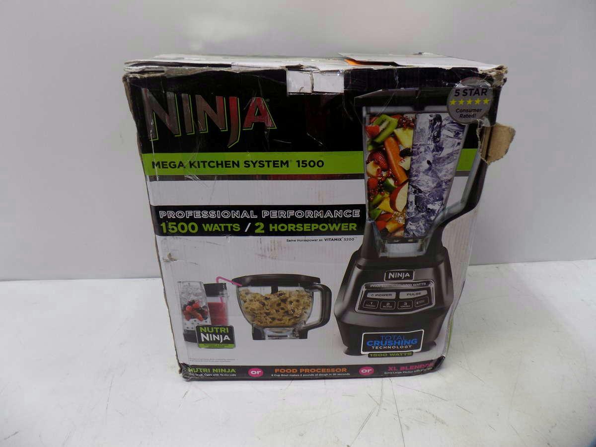 ninja mega kitchen 1500 electrical outlets system with nutri bl770 ebay