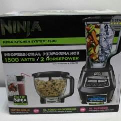 Ninja Mega Kitchen 1500 Natural Maple Cabinets System With Nutri Bl770 Ebay