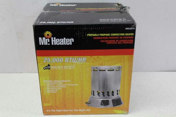 Heater Portable Propane Convection Mh25cvx