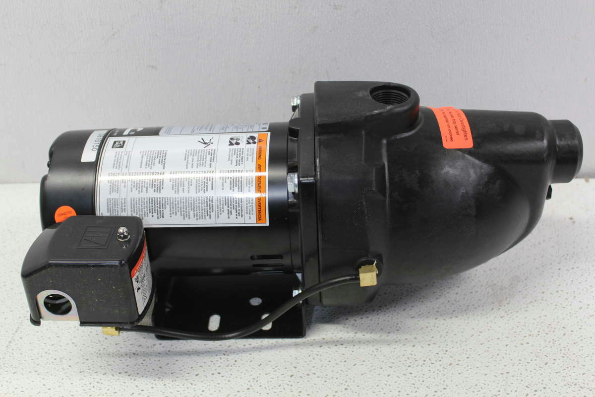 well pump not priming john deere 4440 air conditioning wiring diagram flotec fp4012 10 thermoplastic shallow jet 1 2
