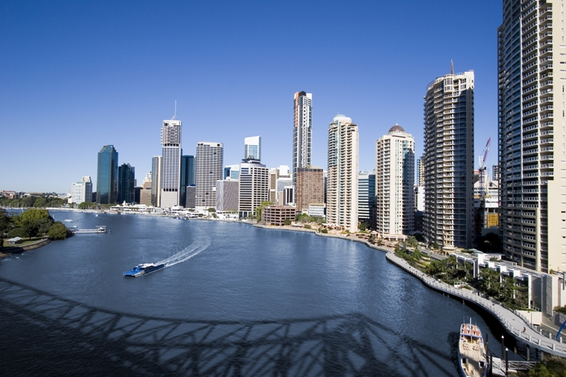 After the trade show, take advantage of Brisbane's warm weather with a leisurely river cruise.