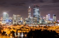 The Perth CBD is easy to get around and offers free internet.