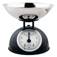 HC-KS60B - Knig - Retro kitchen scale with stainless ...