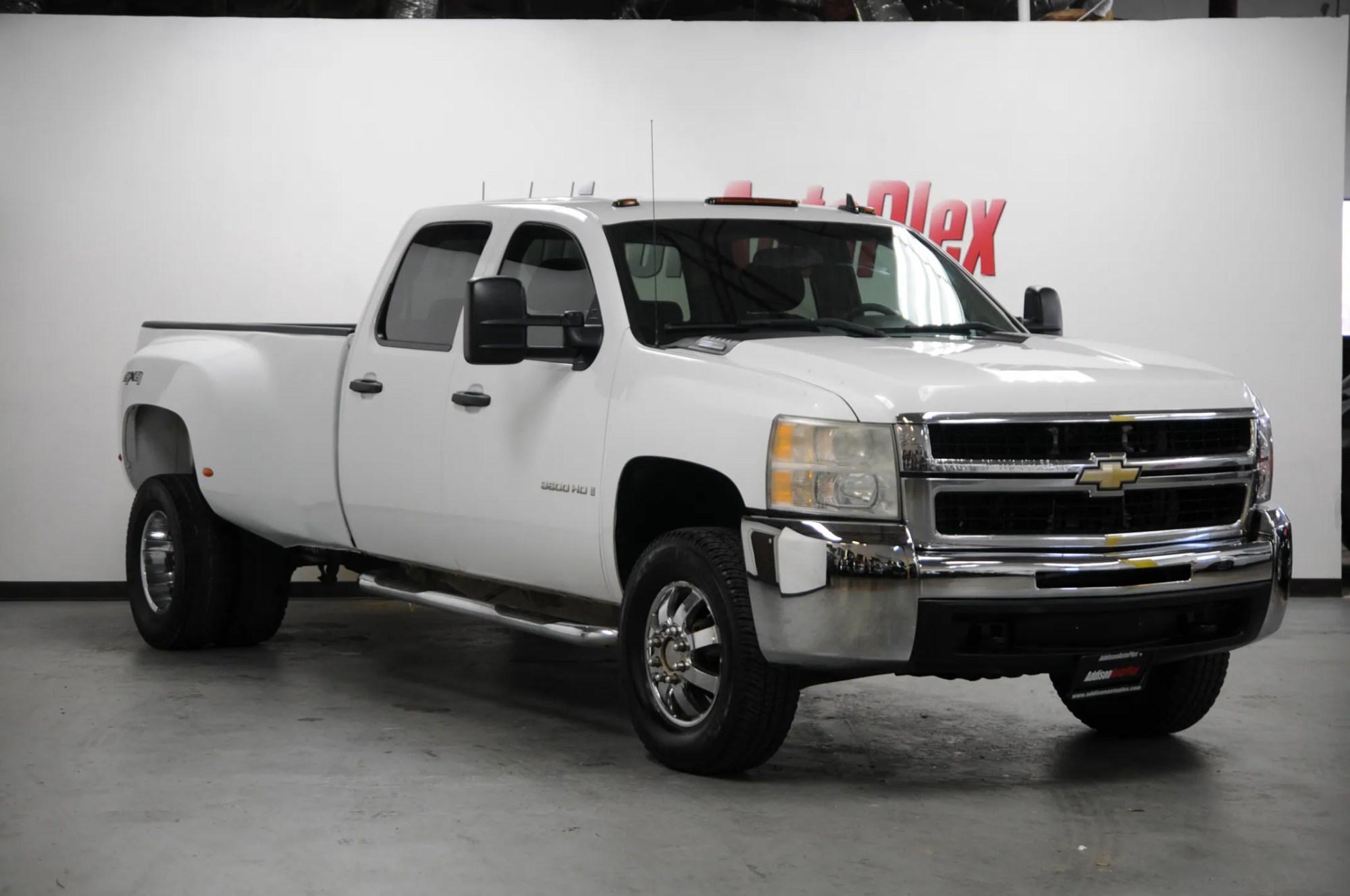 hight resolution of used 2008 chevrolet silverado 3500hd work truck truck crew cab for sale in addison near dallas