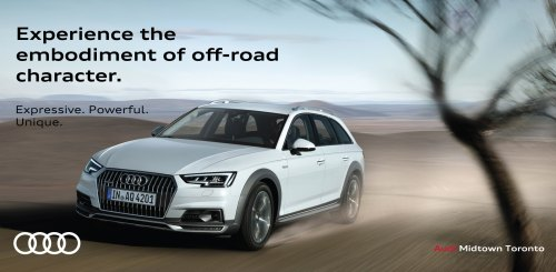 small resolution of all new 2017 audi a4 allroad at audi midtown toronto