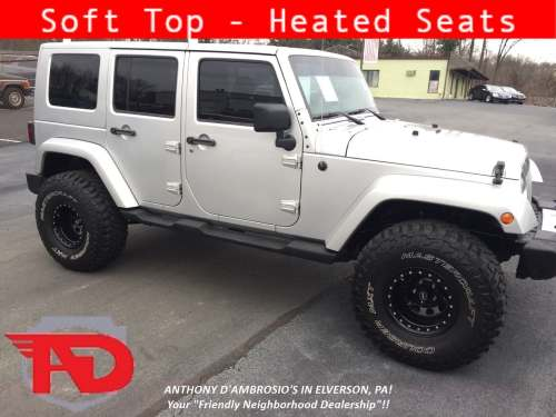 small resolution of used 2011 jeepwrangler unlimited sahara suv