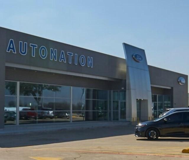 Exterior View Of Autonation Ford Arlington