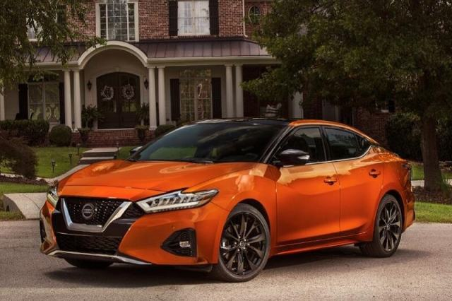 The Maxima isn't as spacious as some other big sedans, but the interior is refined and upscale.